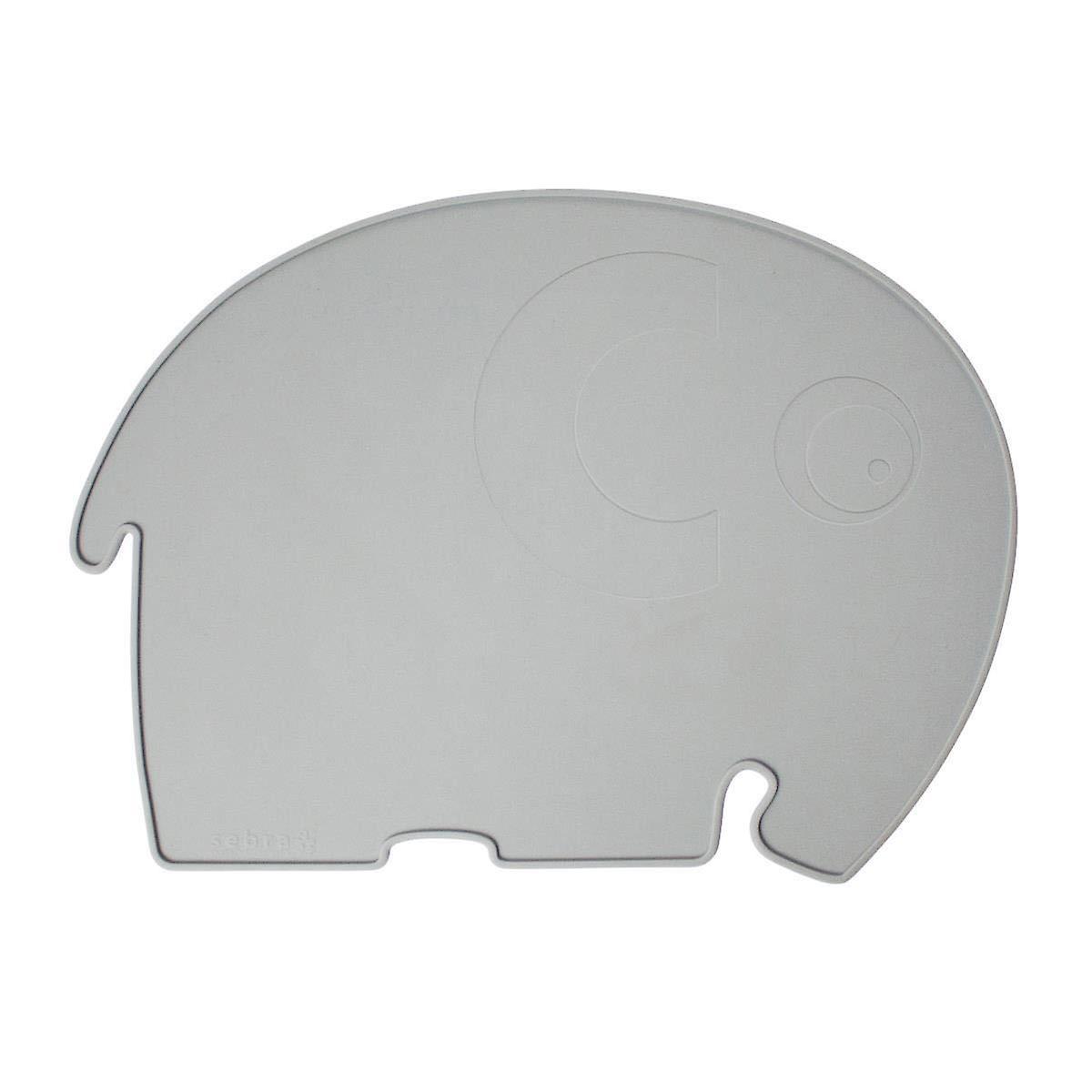 Sebra - silicone placemat - fanto the elephant - elephant grey