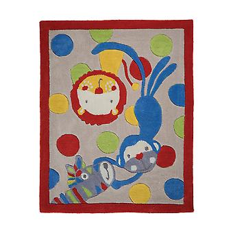 Flair Rugs Childrens/Kids Jungle Animal Design Floor Rug