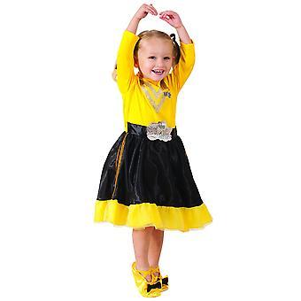 艾玛豪华摇摆的摇摆书周党打扮女孩服装3-5