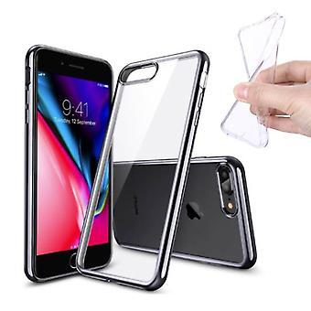 Stuff Certified® 10-Pack Transparent Clear Silicone Case Cover TPU Case iPhone Plus 8