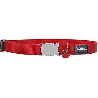 Röd Dingo rak krage kattunge (katter, kragar, leder & selar, halsband)