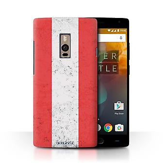 STUFF4 Case/Cover for OnePlus 2/Two/Austria/Austrian/Flags