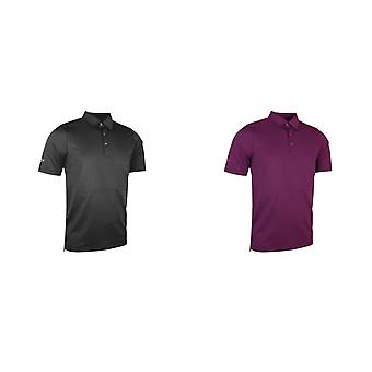 Glenmuir Adults Unisex Micro Stripe Polo Shirt