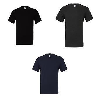 Bella + Tuval Yetişkinler Unisex Jersey AğırSiklet Tişört