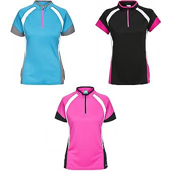 Intrusion Womens/dames Harpa Short Sleeve Top vélo