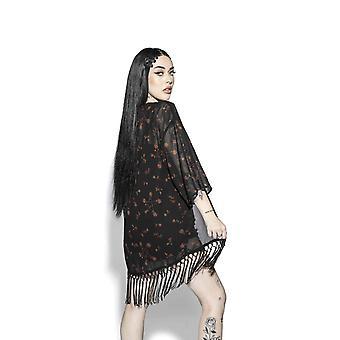 Blackcraft kült - pentagram gül - kimono