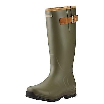 Ariat Burford Mens Insulated Wellington Boot - Olive Green