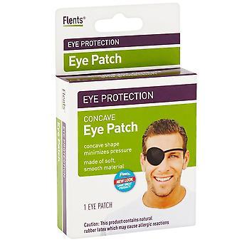 Flents eye patch, black, regular, 1 ea
