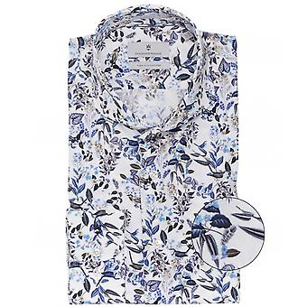 Thomas Maine Tailored Fit Bird Print Bari Shirt