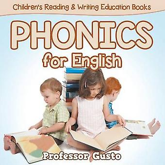 Phonics for English  Childrens Reading  Writing Education Books by Gusto & Professor