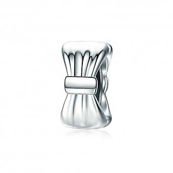 Sterling Silver Charm Elegant Bow Tie - 5580