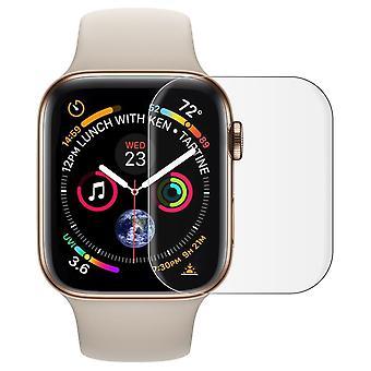 Apple Watch 4. && 5. Gen 40 mm TPU folio läpinäkyvä suoja tarvikkeet pehmeä