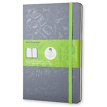 Moleskine evernote notebook large grey