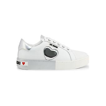 אהבה מושלנו-נעליים-סניקרס-JA15023G1AIF_310B-נשים-לבן, כסף-האיחוד האירופי 35