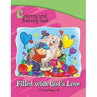 1 Corinthians 13 Coloring and Activity Book Book Filled with Gods Love by de Bezenac & Agnes