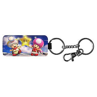 Chaveiro Super Mario Toad & Toadette