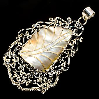 Gigantic Mother Of Pearl Pendant 4