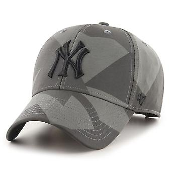 47 Brand Curved Snapback Cap - COUNTER New York Yankees camo