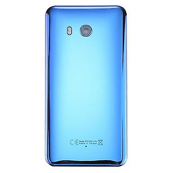 الخلفية - غطاء بطارية العدسة لـ HTC U11 - أزرق