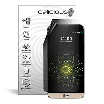 Celicious Privacy Lite 2-Way Anti-Glare Anti-Spy Filter Screen Protector Film Compatible with LG G5