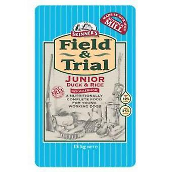Skinners Field And Trial Duck And Rice Junior Working Dry Dog Food