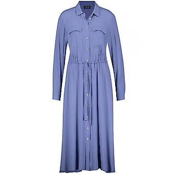Taifun Blue Shirt Dress