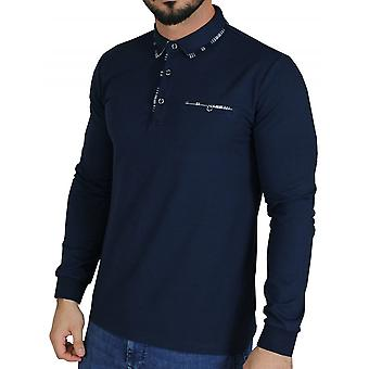 D-ROCK Cody Polo Shirt Navy