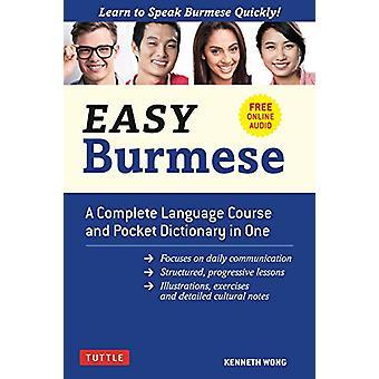 Helppo Burman - Täydellinen kielikurssi ja Pocket Sanakirja yhdessä