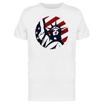 تمثال الحرية تصميم الرسومات المحملة الرجال-الصورة عن طريق Shutterstock