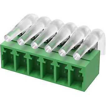 Degson حاوية المقبس - PCB 15EDGRC- LD العدد الإجمالي للدبابيس 8 تباعد الاتصال: 3.81 مم 15EDGRC-LD-3.81-08P-14-00AH 1 pc(s)