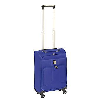 Controleren. IN Paradise Florence Handbagage Trolley S, 4 wielen, 55 cm, 29 L, blauw