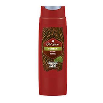 Old Spice - Timber Shower Gel - Shower Gel for Men - 250ML