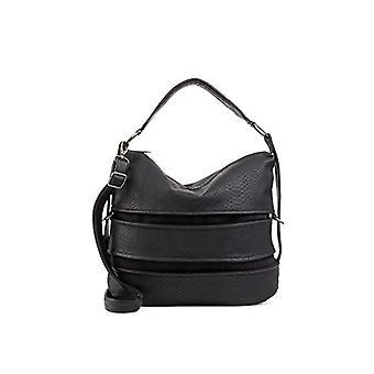 Fritzi aus Preussen Riverside - Black Women's Shoulder Bags (Black) 37x12.5x32 cm (W x H L)