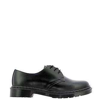 Dr. Martens Dms1461monobi14345001 Heren's Black Leather Lace-up Schoenen