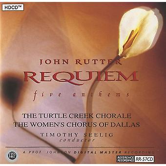 J. Rutter - Rutter: Requiem / Anthems [CD] USA import