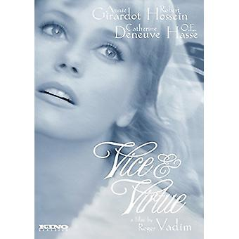 Vice & Virtue [DVD] USA import