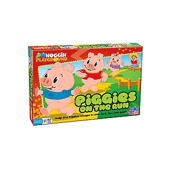 Piggies on the run - fast, fun race game