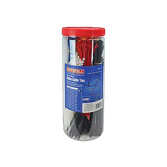 Faithfull Cable Ties - Barrel Pack of 1200 FAICT1200