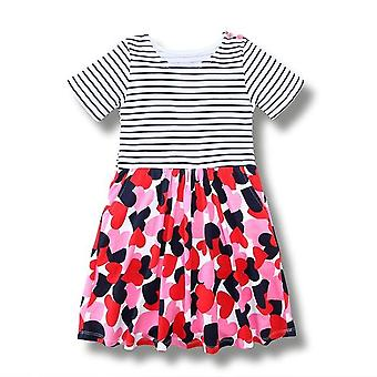Party Dress, Hearts And Stripes Design, Infant