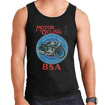 BSA Motor Cycling Empire Star Men's Vest
