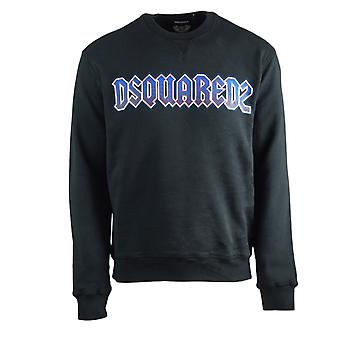 Dsquared2 Rock Logo Cool Fit Sudadera negra