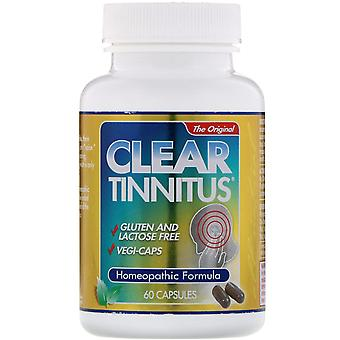 Clear Products, Clear Tinnitus, 60 Capsules