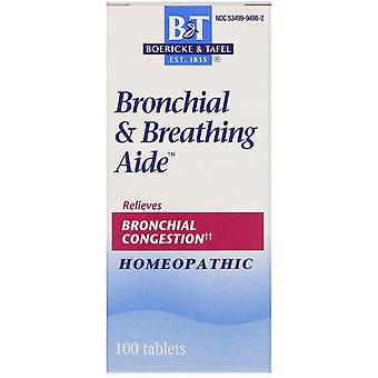 Boericke & Tafel, Bronchial & Breathing Aide, 100 Tablets