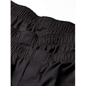 ブランド - グッドスレッドメン&アポス;s 3パックストレッチ織りボクサーショーツ、ブラック、XX..