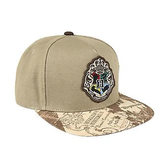 Harry Potter Tylypahkan Patch Marauder's Kartta Snapback