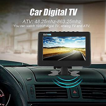 1080p Portal Digital LCD Tv Dvb- High Sensitivity 7inch Car Digital Stereo Surrounding Car Television Led Tv