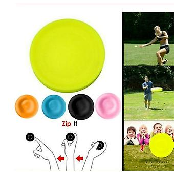 Mini Beach Flying Disk For Outdoor Sports - Silicone Disc Decompression Toys To Play Beach Entertainment Toys