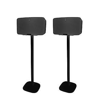 Vebos Bodenständer Sonos Fünf schwarz set