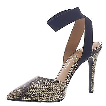 Jessica Simpson Women's Shoes Perinna Pointed Toe Casual Mule Sandals