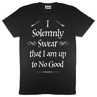 ハリー・ポッター厳粛に誓いメン&アポ;s Tシャツ |オフィシャル・グッズ
